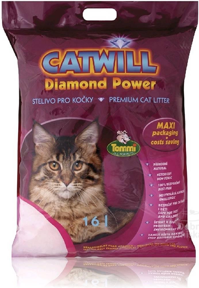Tommi Podestýlka Catwill Diamond Power kočka pohlc. pach 16l