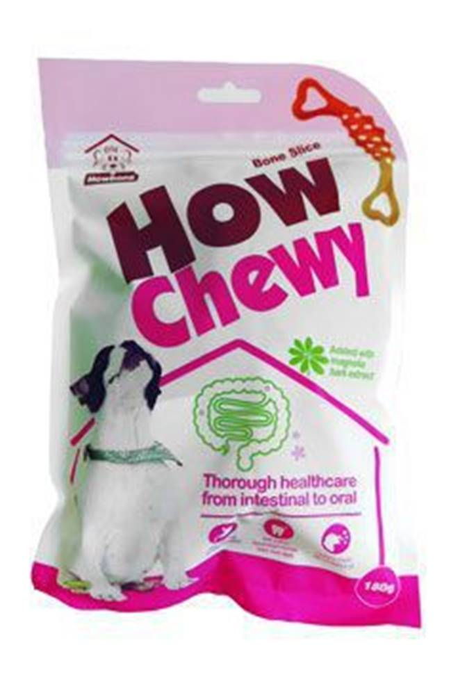 TENESCO s.r.o. Pochoutka dentální How Chewy Bone Slice 180g