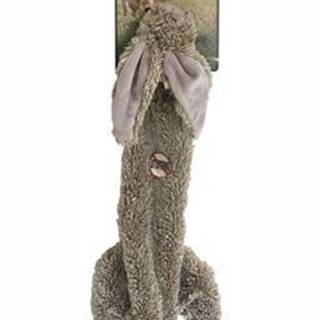 Hračka pes Zajíc pískací 38cm Skinneeez