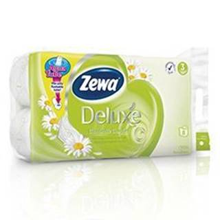 Wc toaletní papír ZEWA Deluxe Aqua Tube Camomile3V 8ks