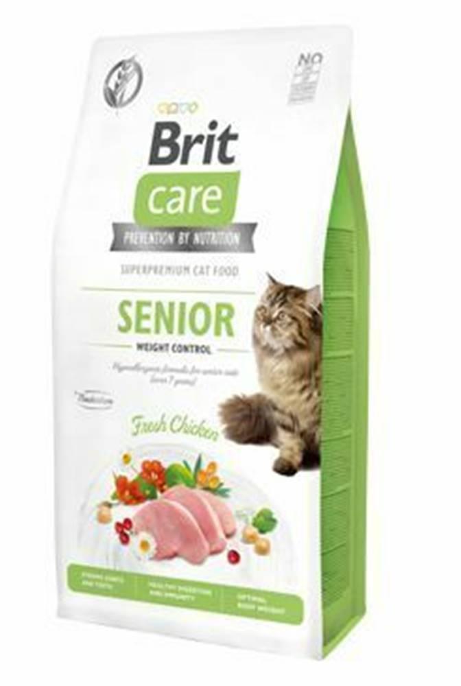 Brit Care Brit Care Cat GF Senior Weight Control 7kg