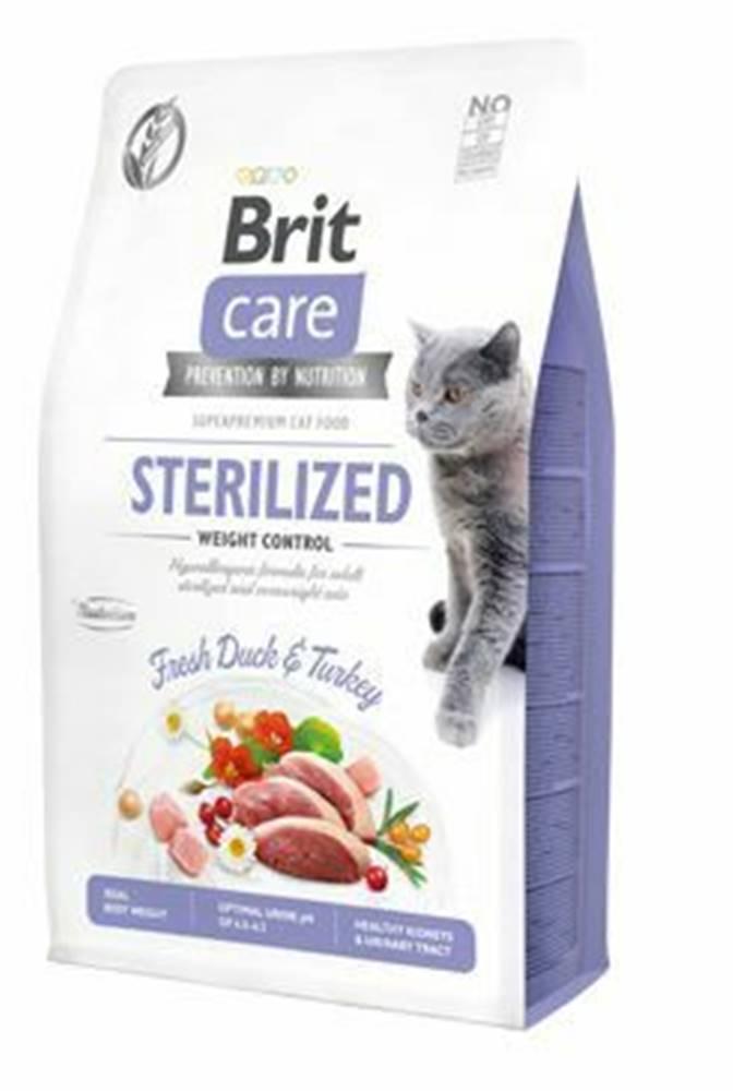 Brit Care Brit Care Cat GF Sterilized Weight Control 2kg