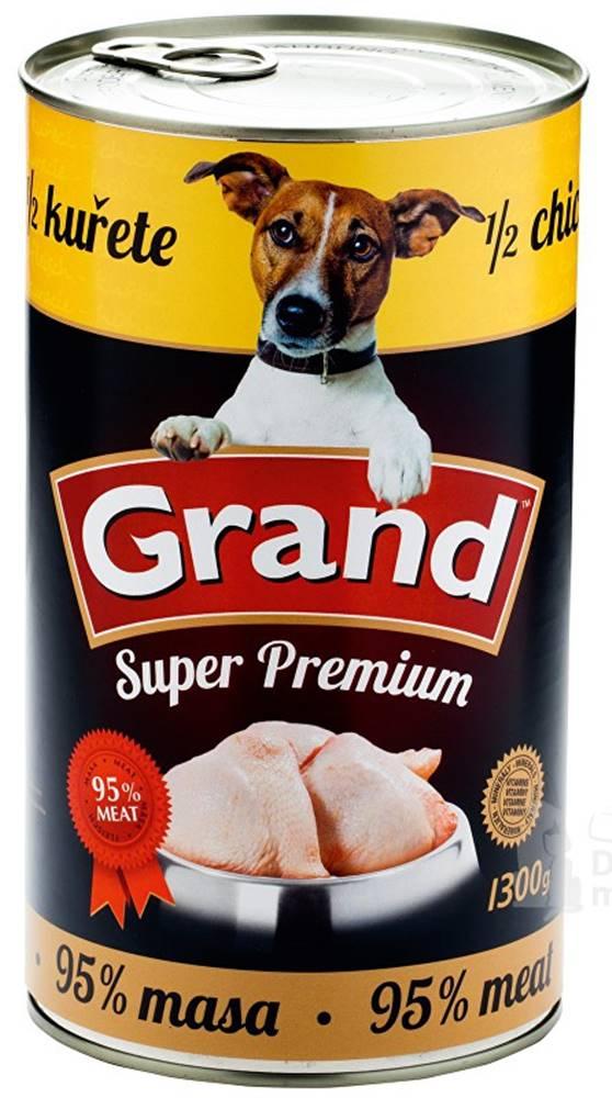 Grand GRAND konz. pes Extra s 1/2 kuřete 1300g