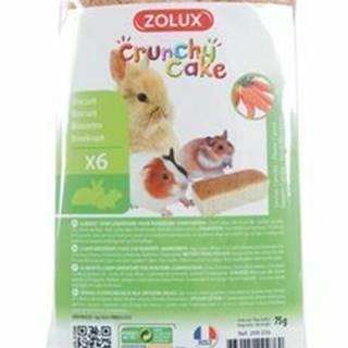 Crunchy Cake mrkva pre hlodavce 75g Zolux
