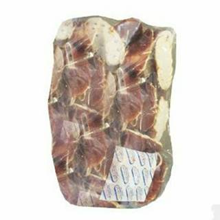 Topánka byvolie 7,5cm s kačacím mäsom 500g