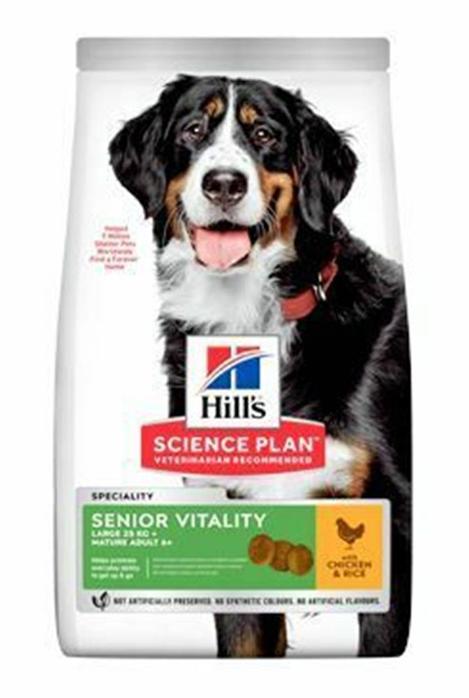 Hill's Hill's Can.Dry SP Mature Adult 5+Senior Large Br.2,5kg