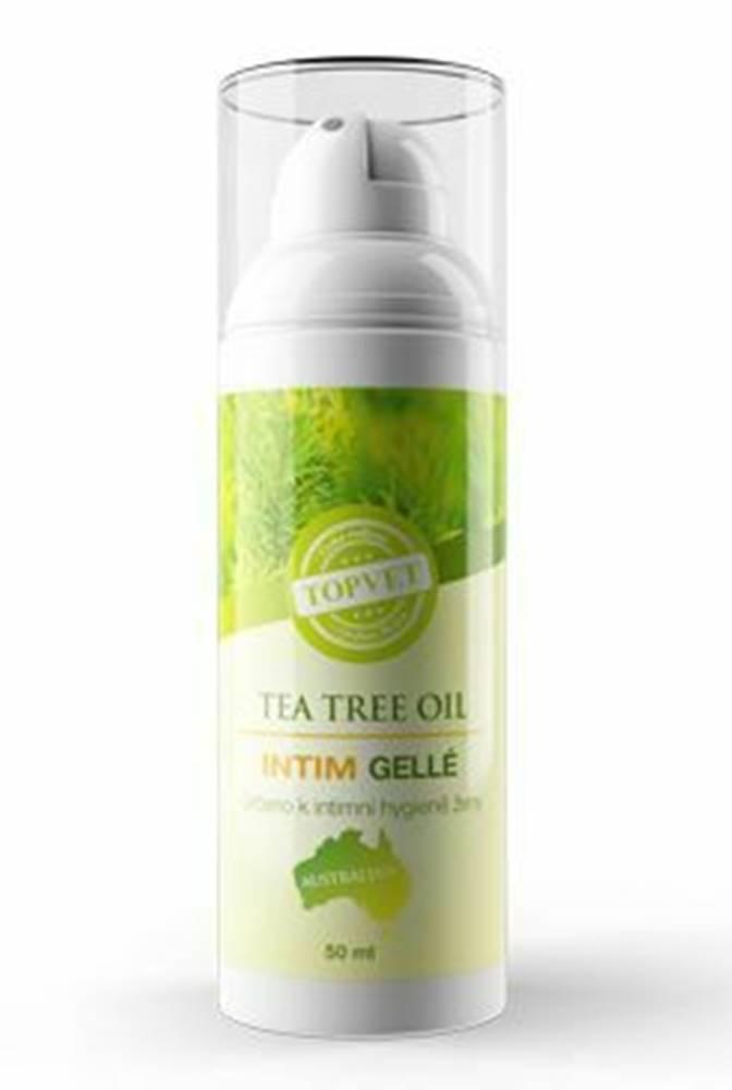 TOPVET Tea Tree Oil intim gelle TOPVET 50ml