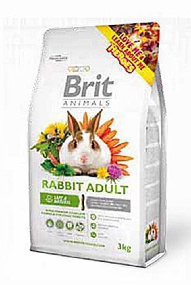 Brit Brit Animals Rabbit Adult Complete 3kg