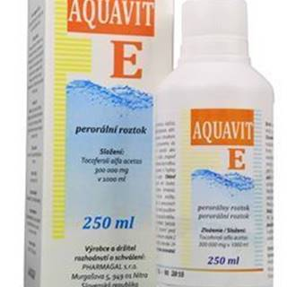 Aquavit E sol 250ml