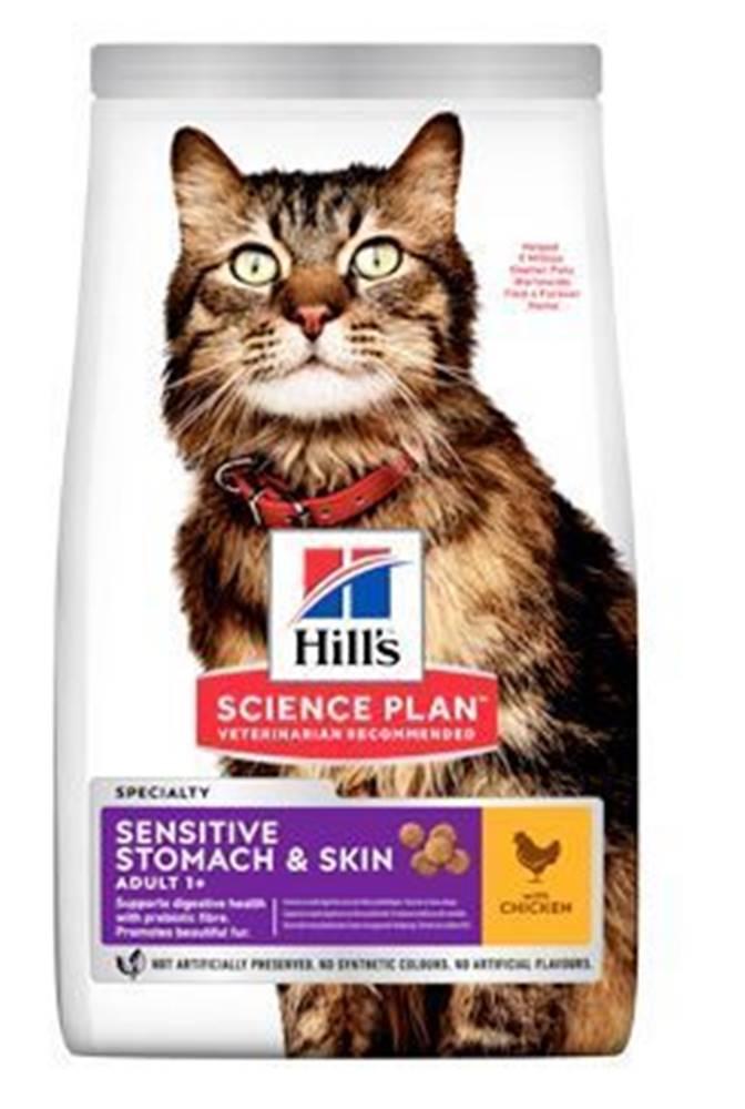Hill's Hill's Fel. Dry Adult Sensit.Stomach&Skin Chicken1,5kg