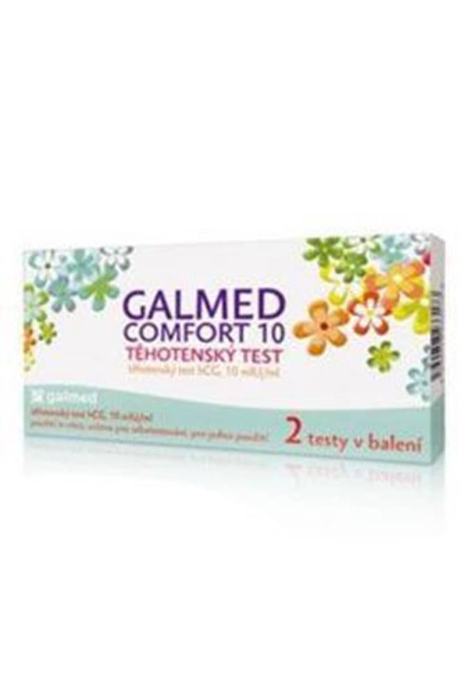 Ostatní Test těhotenský GALMED Comfort 10hCG 2ks