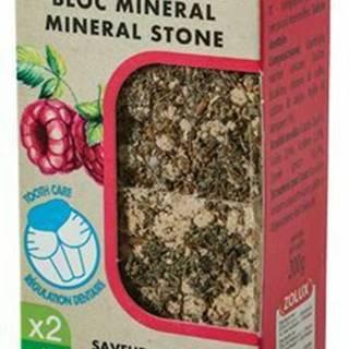 Minerálne kameň EDEN hlodavcami malina 2x200g Zolux