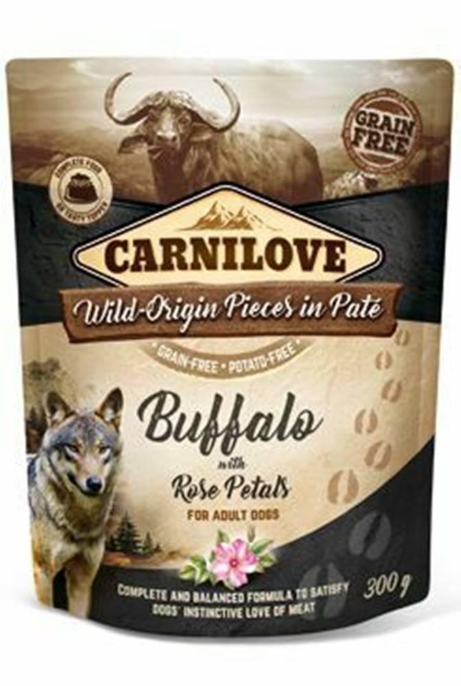 Carnilove Carnilove Dog Pouch Paté Buffalo & Rose Petals 300g