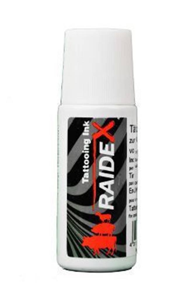 RAIDEX Barva tetovací Raidex černá s kuličkou 65ml