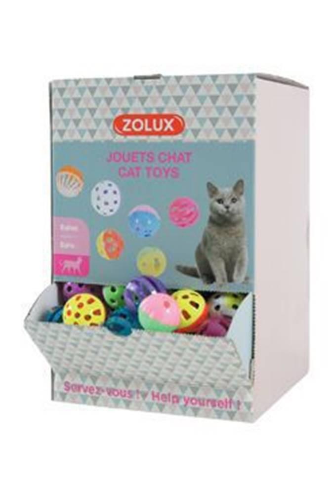 Zolux Hračka kočka Display zvonící míčky 204ks Zolux