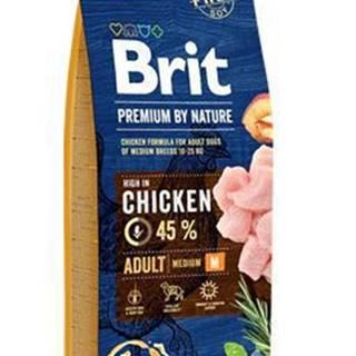 Brit Premium Dog by Nature Adult M 15kg