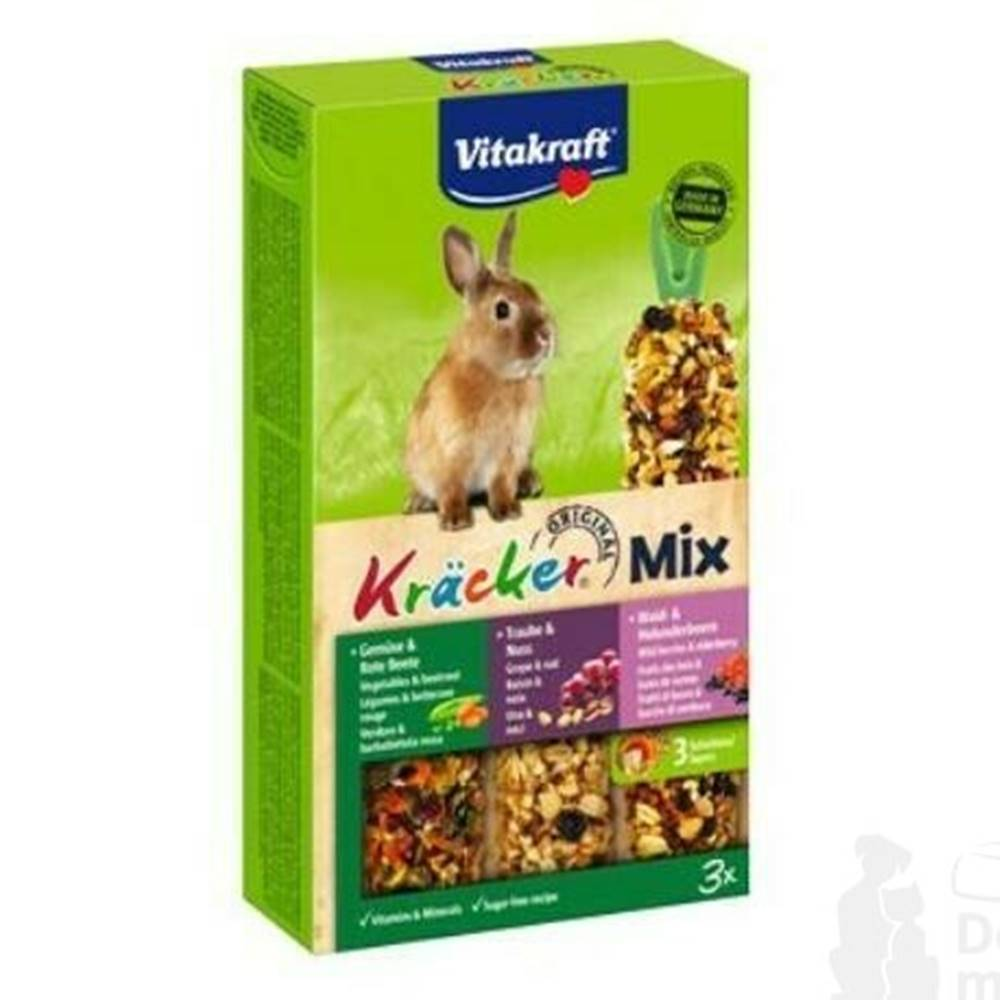 Vitakraft Vitakraft Rodent Rabbit poch. Kräcker  Kombi 3ks