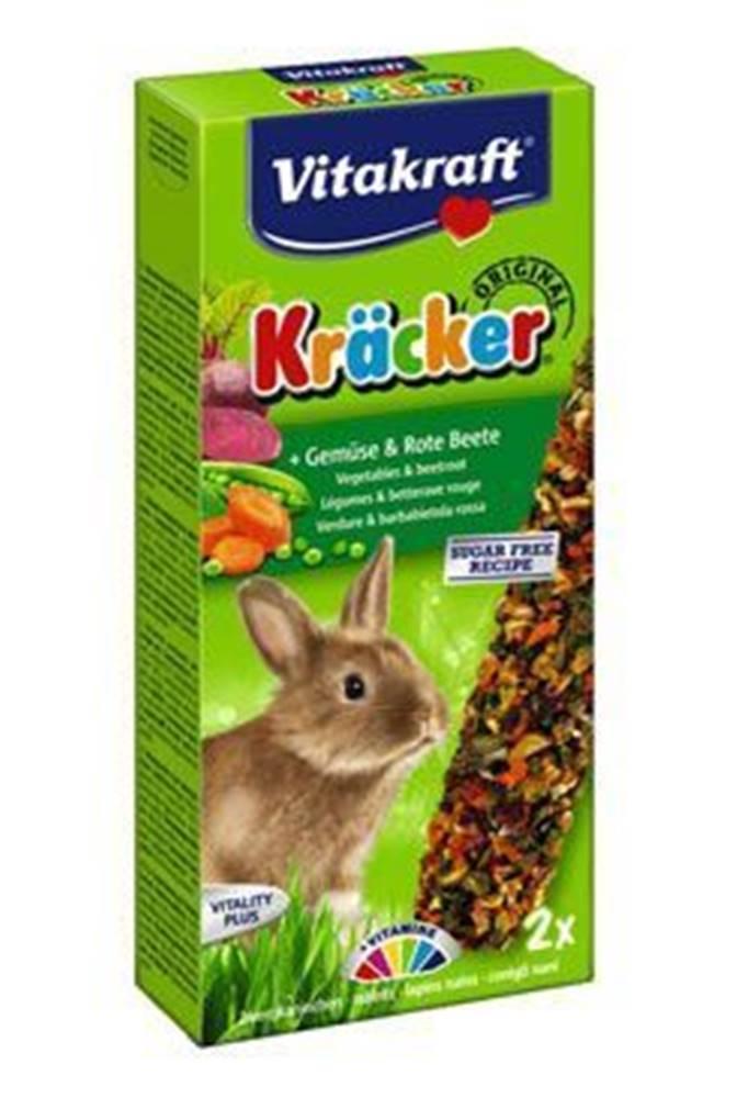 Vitakraft Vitakraft Rodenta Rabbit Kräcker zelenina + červ.řepa 2ks
