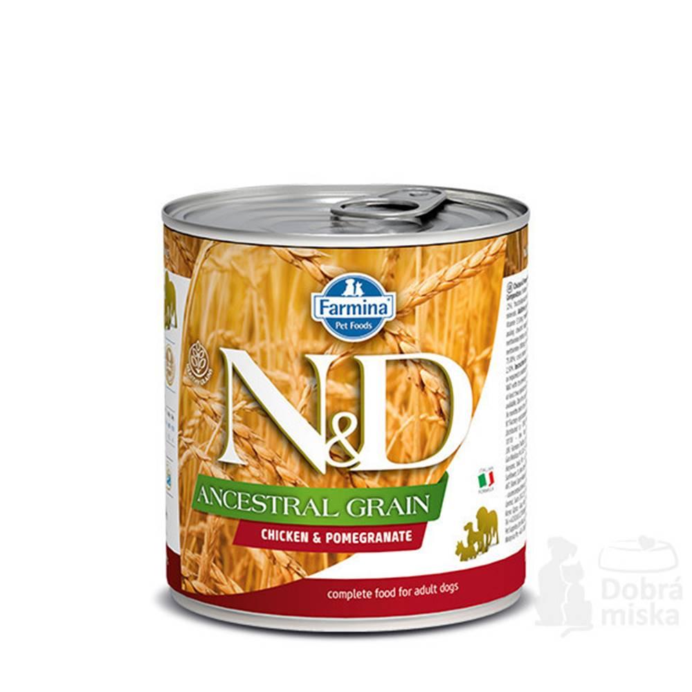 N&D (Farmina Pet Foods) N&D DOG LOW GRAIN Adult Chicken & Pomegranate 285g