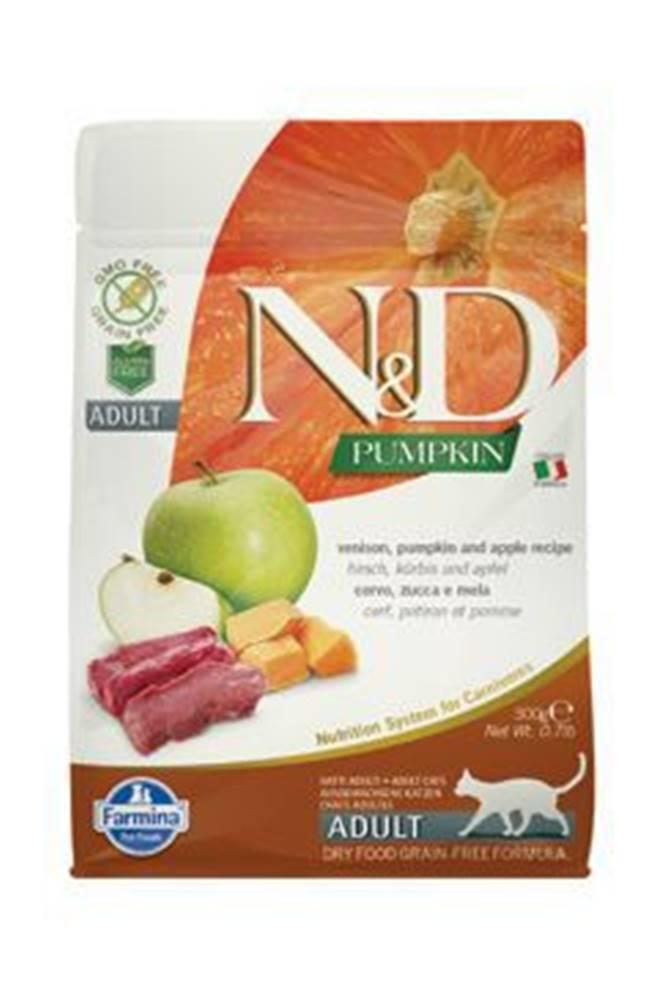 N&D N&D GF Pumpkin CAT Venison & Apple 300g