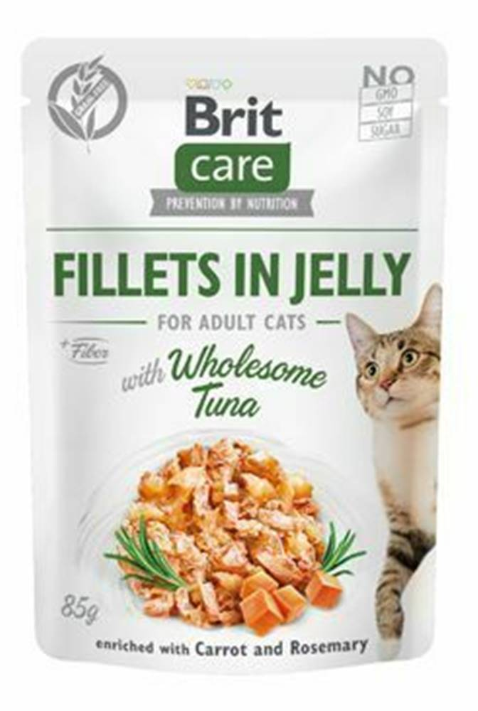Brit Care Brit Care Cat Fillets in Jelly with Wholesome Tuna 85g