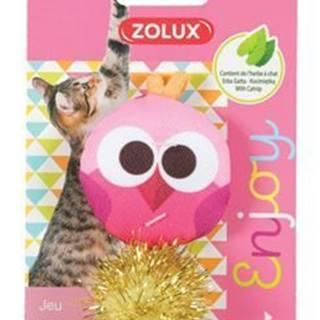 Hračka mačka LOVELY s santa sova Zolux