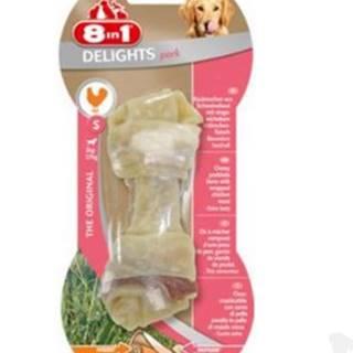 8in1 Kost žvýkací Delights vepřová S 1ks