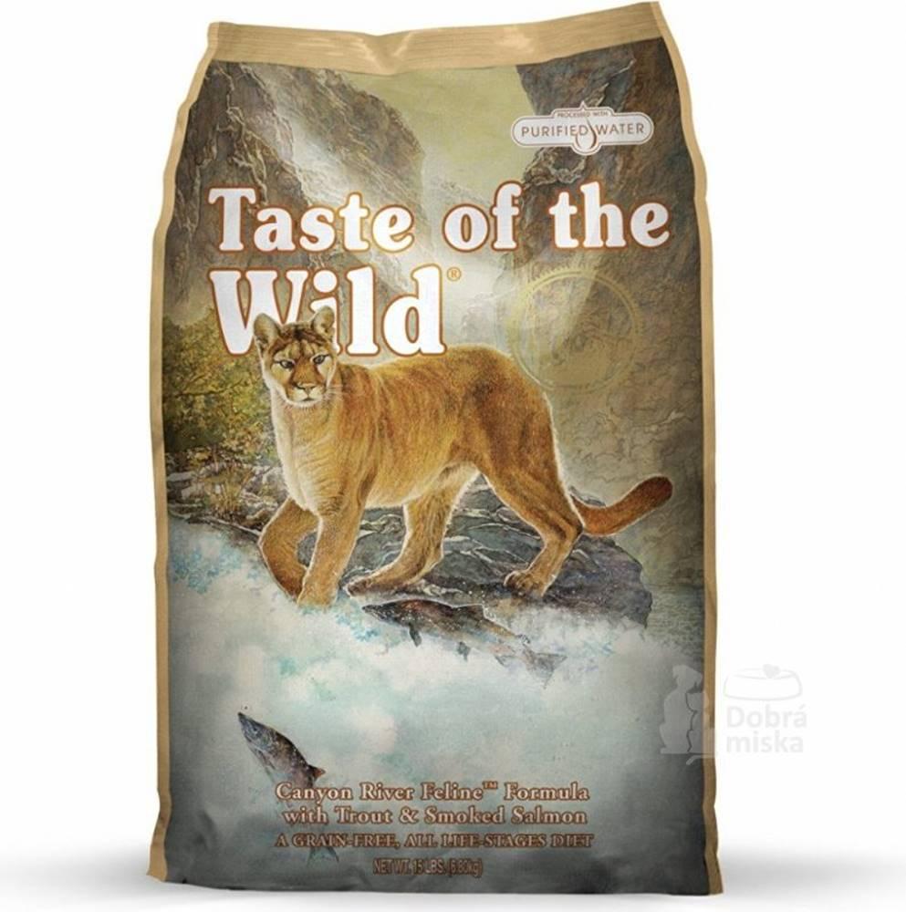 Taste of the Wild Taste of the Wild kočka Canyon River Feline 2kg