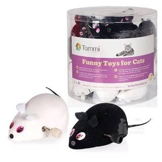 Hračka kočka Myška na klíček malá 7cm