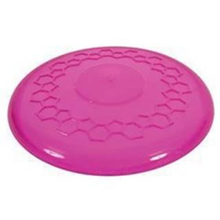 Hračka pes FRISBEE TPR POP 23 cm růžová Zolux - new