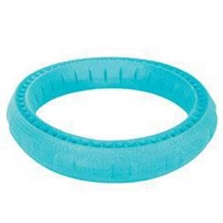 Hračka pes RING MOOS TPR POP 17cm modrá Zolux