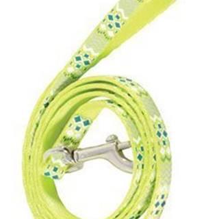 Vodítko mačka ETHNIC nylon zelené 1m Zolux
