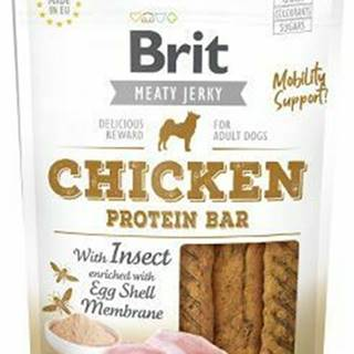 Brit Jerky Chicken with Insect Protein Bar 80g