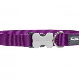 Obojok RD jednofarebný fialový - 1,2/20-32cm