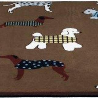 Podložka (obdĺžnik) protišmyková FUN dogs - 90x68cm