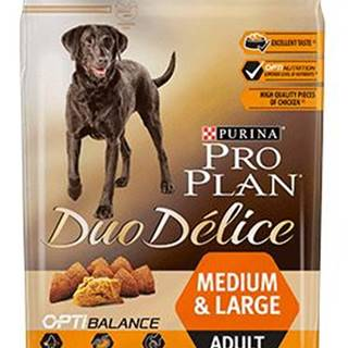 PROPLAN  DUOdelice MEDIUM/LARGE chicken - 2,5kg