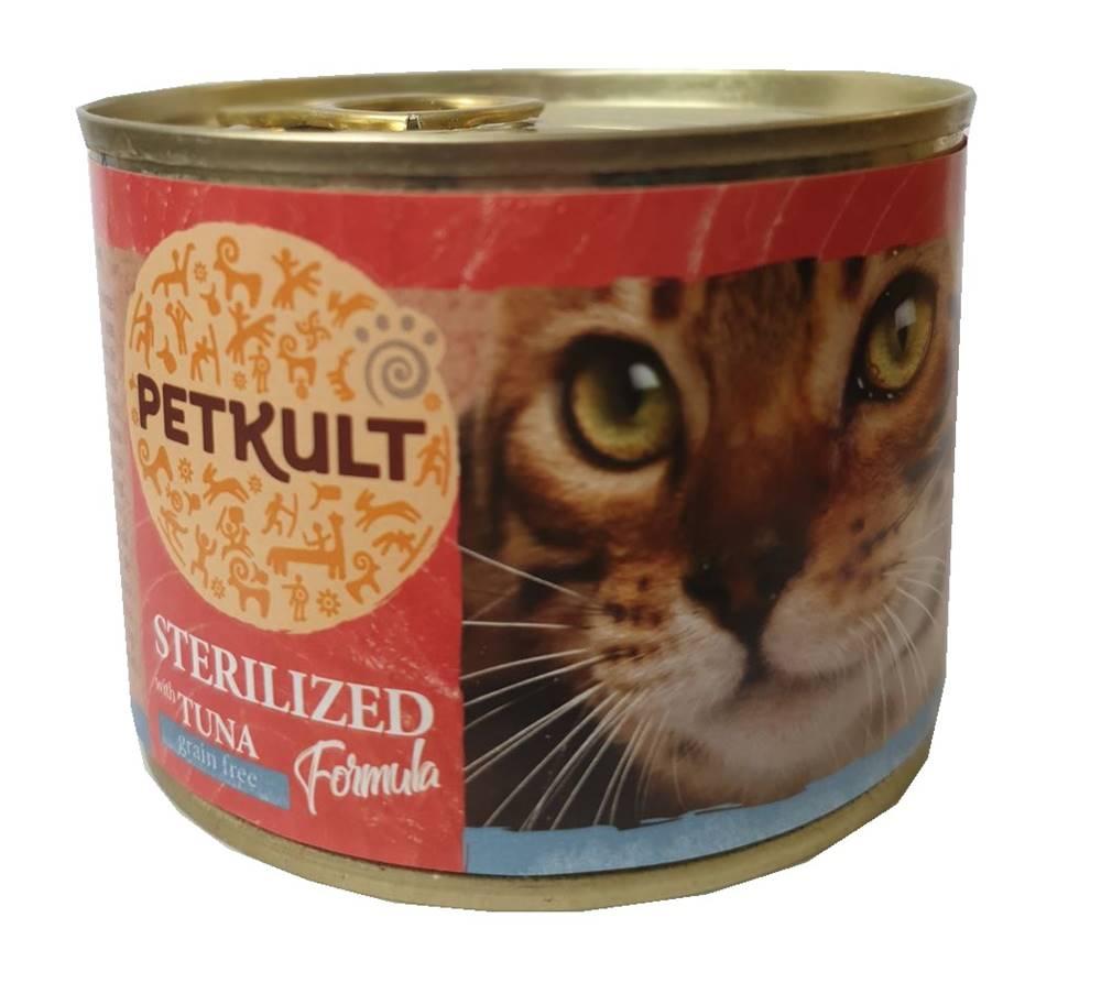 PETKULT  cat konz.  STERILI...