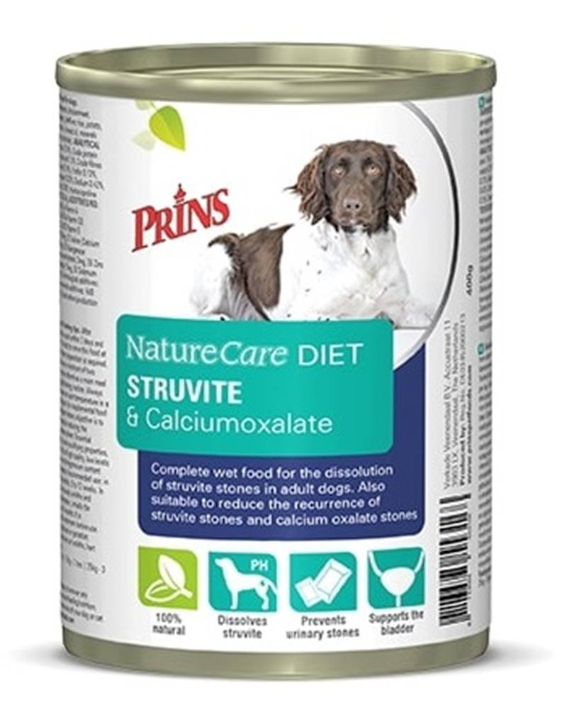 Prins PRINS NatureCare Veterinary Diet STRUVITE & Calciumoxalate - 400g