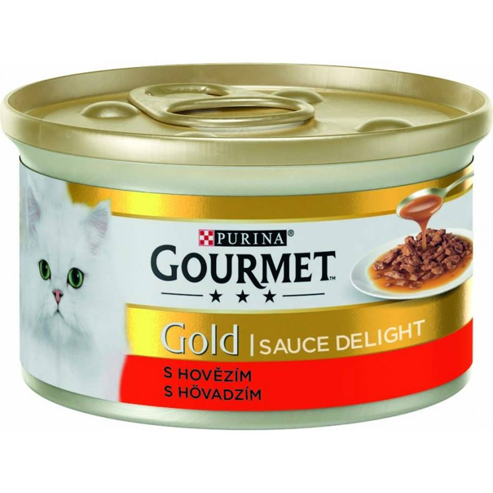 Gourme gold PURINA GG sauce delight hov./kura 85 g konzerva - KURACIE