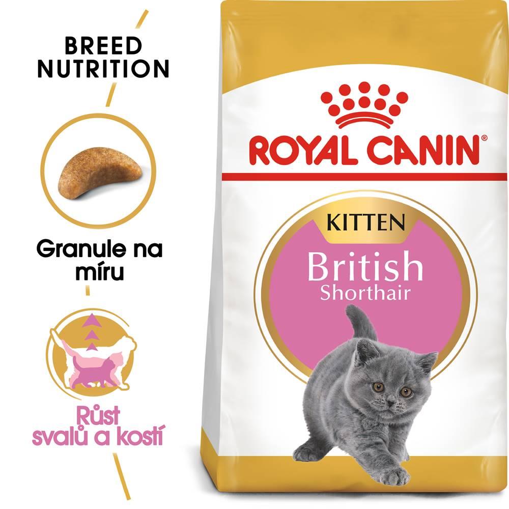 Royal Canin RC cat  KITTEN BRITISH shorthair - 400g