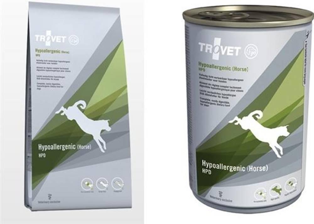 Trovet Trovet dog HPD - Hypoallergenic horse - 3kg