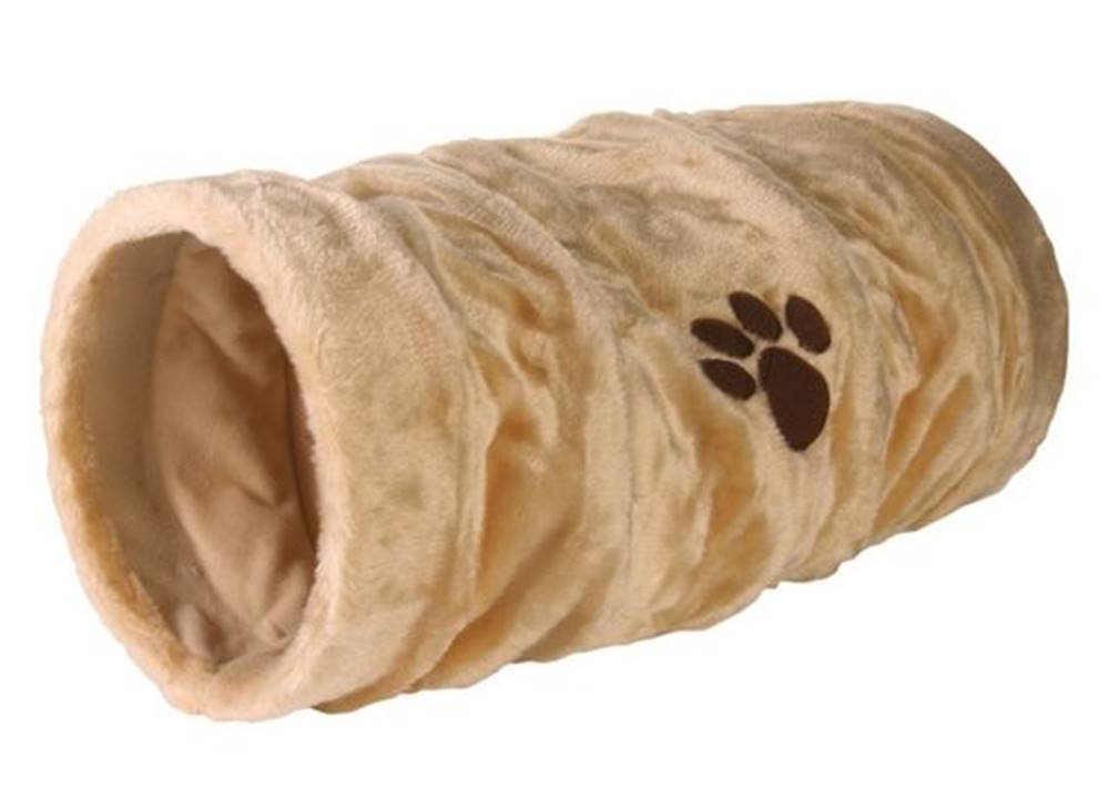 Trixie Tunel pre mačky Plyšový / Šuštiace 22cm / 60cm - béžový