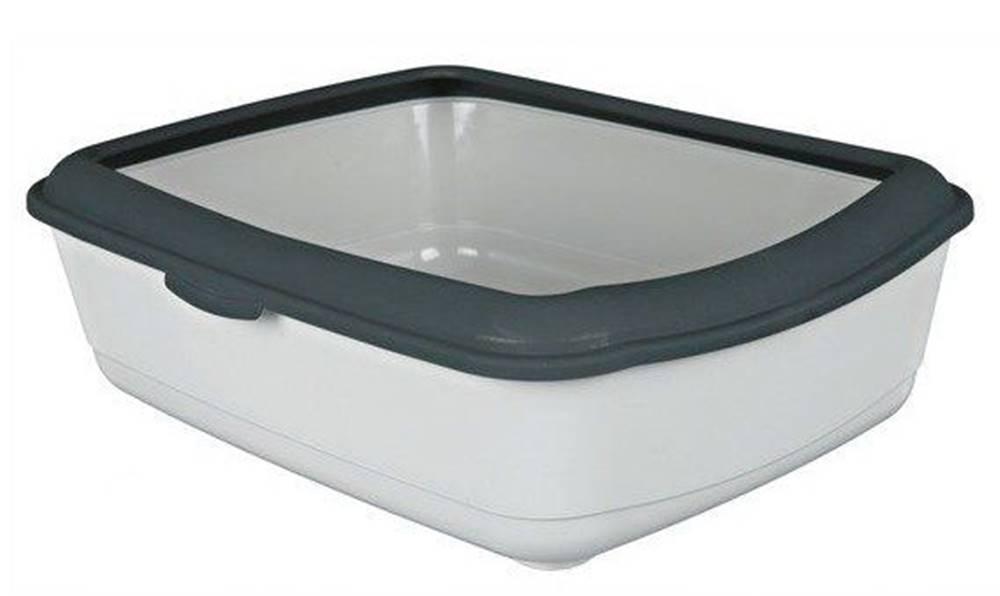 Trixie WC CLASSIC (s okrajem) 37x15x47 cm - Tmavě šedá / béžová
