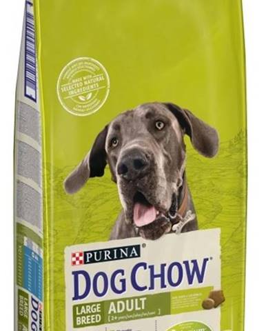 PURINA dog chow ADULT LARGE morka - 14kg