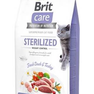 BRIT CARE cat STERILISED weight control - 2kg