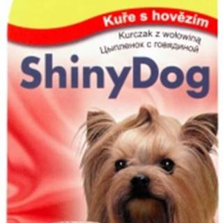 GIMBORN SHINY dog konz. KURČA / hovädzie - 2x85g