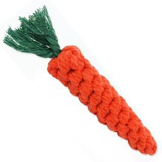 HRAČKA Dog Fantasy bavlněná mrkev - 20cm
