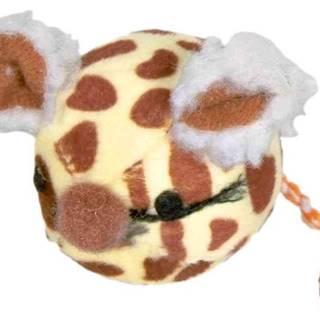 HRAČKA loptička s myšiam tvárou - 4,5cm