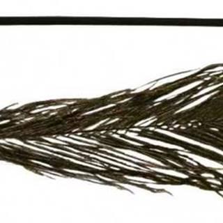 HRAČKA pávie pero na udicu - 47cm