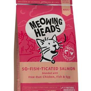 Meowing Heads  SO-FISH-ticated salmon - 450g